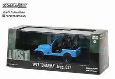 Greenlight 1977 Dharma Jeep CJ 7 Hollywood Lost TV Series 1:43 Blue 86309