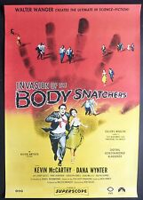 INVASION OF THE BODY SNATCHERS ORIGINAL 2015 CINEMA RE-RELEASE ONE SHEET POSTER