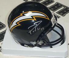 Philip Rivers Signed Chargers Football Mini Helmet BAS Beckett COA Autograph #17
