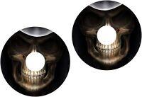 Wheelchair Spoke Guard Skins Skull Head Mobility Sticker 1219
