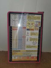 WhiteCoat Clipboard Nursing Edition Folding Aluminum Student Nurse Pink 9