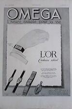 HORLOGERIE MONTRES LOT 10 PUBLICITES DE PRESSE ANNÉES 1930 OMEGA LIP ORLAM