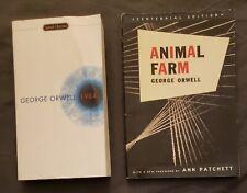 1984 & Animal Farm by George Orwell Paperbacks Good Condition