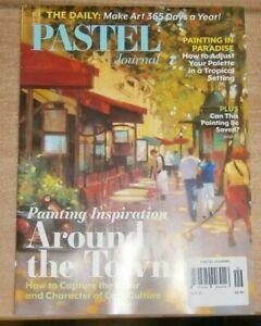 Pastel Journal magazine Autumn 2021 Painting inspiration around the town & more