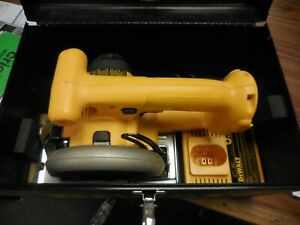 DeWalt DW395 14.4V Trim Saw And Charger Tool, Charger & Hard Case Only