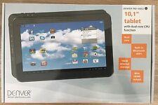 "Tablet Denver TAD-10063 10,1"" 25,6cm GEBRAUCHT Android 4.2 16GB Wlan Bluetooth"