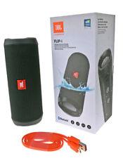 JBL FLIP 4 Bluetooth Lautsprecher Soundbox Wasserfest Freisprechen Musik Schwarz