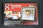"""ViewSonic 8"""" Digital Picture Frame VFD826-12 free shippng"""
