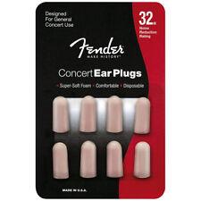 Fender Concert Foam Ear Plugs 4 Set 32db - Concert series earplugs