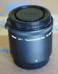 Nikon Nikkor TC-20E / TC-20EII 2x Teleconverter AFS / D mount Black New in Box