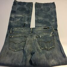 Womens AG Adriano Goldschmied The Angel Jeans Bootcut Distress Destroyed 28 x 33