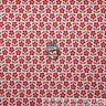 BonEful Fabric FQ Cotton Quilt VTG White Red Flower Calico Stripe Polka Dot Tiny