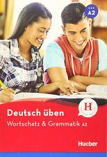 HUEBER Deutsch Uben WORTSCHATZ & GRAMMATIK A2 @New Book@ 9783198574935