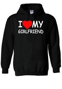 I LOVE My GIRLFRIEND Heart Tumblr Hoodie Sweatshirt Jumper Men Women Unisex 1800