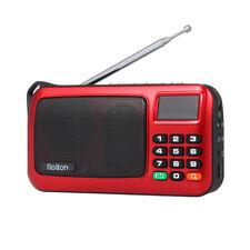 Rolton W405 FM Stereo Radio Digital Receiver AUX/USB/TF MP3 Music Speaker Z4U1