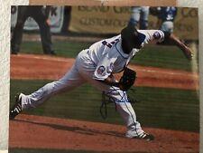 Johan Santana Signed Mets 8x10 Photo
