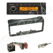 FIAT Multipla Typ186 Autoradio Einbaublende Radio KFZ Blende Radioblende schwarz