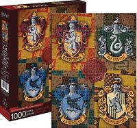 Harry Potter Écussons 1000 Pièce Puzzle 690mm x 510mm (NM)