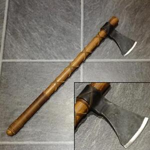 NEW Ragnar Viking Warriors Axe with Leather Wrapped Handle - Costume or Display