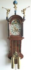 Warmink Friese Wall Clock Dutch 8 Day Chain Driven Moonphase Vintage