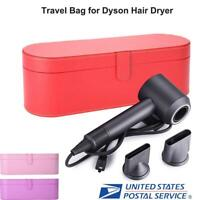 New Hair Dryer PU Leather Storage Box for Dyson Supersoni Travel Carry Case US
