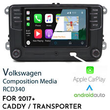 VW RCD340 - Android Auto Apple CarPlay OEM headunit for Caddy Transporter T6