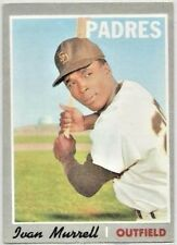 1970 TOPPS BASEBALL CARD OF IVAN MURRELL OF THE PADRES  CARD   #179