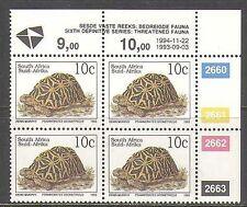 RSA 1993 Tortoise/Animals/Nature/Wildlife 1994 rprnt 1v c/b (za10024)