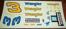 JnJ NASCAR DECALS #3 DALE EARNHARDT WRANGLER GOODWRENCH MONTE CARLO 1986?