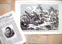 1871 ASSEDIO DI PARIGI I PRUSSIANI E BOMBARDAMENTO DI MONT AVRON LOTTO RIVISTE