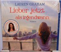 Lieber jetzt als irgendwann + Lauren Graham + Hörbuch auf 5 CDs + 378 Minuten