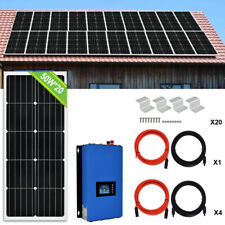 600W 1000W On Grid Tie Solar Panel System For Home Factory Electricity Bill Save