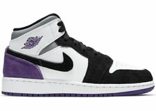 Jordan 1 Mid Purple Shadow GS SIZE 7 BQ6931-105