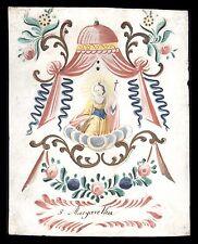santino miniatura 1700 S.MARGHERITA V.M. DI ANTIOCHIA