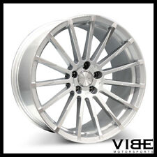 "19"" ACE DEVOTION SILVER CONCAVE WHEELS RIMS FITS NISSAN 350Z 370Z"