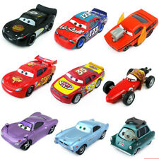 Disney Pixar Cars McQueen Professor Z Sheriff Guido 1:55 Metal Toy Car Model