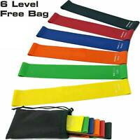 Resistance Bands Pull Up Exercise Loop Crossfit Strength Weight Gym Fitness Band