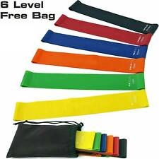 Resistance Bands Pull Up Exercise Loop Strength Weight Gym Fitness Band