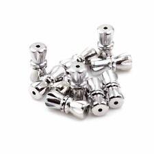 5 Dreh Verschlüsse für Halsketten Schraubverschluss 10 x 4 mm Verbinder