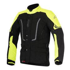 Blousons jaunes textiles doublure pour motocyclette