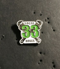 UA PLUMBERS PIPEFITTERS STEAMFITTERS  UNION LOCAL 33 Lapel Pin
