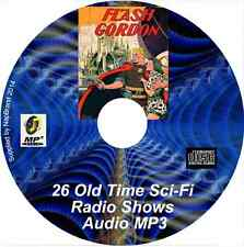 Flash Gordon 1935 Radio Serial 35 Old Time Radio Shows Sci-Fi MP3 Audio CD OTR