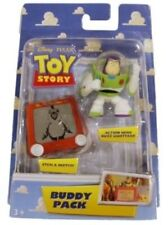Action Figures Buddy Pack Toy Story Etch a Sketch Hero Buzz Lightyear cm 5 Nuovo