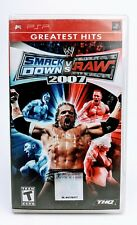 Wwe Smackdown Vs Raw 2007 (Sony PSP, 2006) CIB