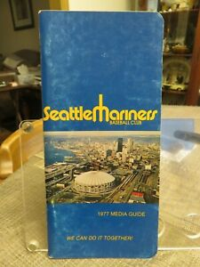 SEATTLE MARINERS 1977 MEDIA GUIDE