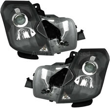 HID Headlights Headlight Assembly (w/Bulb) Pair Set for 03-07 Cadillac CTS