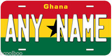 Ghana Flag Any Name Number Novelty Car Auto License Plate
