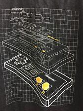 Nintendo Entertainment System 3D Controller Graphics 2016 Black Tshirt Mens LG