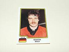 N°104 MARTIN WILD BRD RFA PANINI HOCKEY 79 ICE GLACE 1979 CHAMPIONNAT MONDE