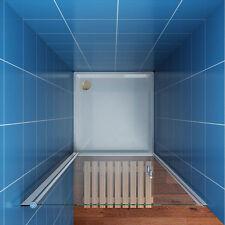 Bathroom Bi fold Sliding Pivot Shower Doors Enclosure Frameless 6mm/8mm Glass